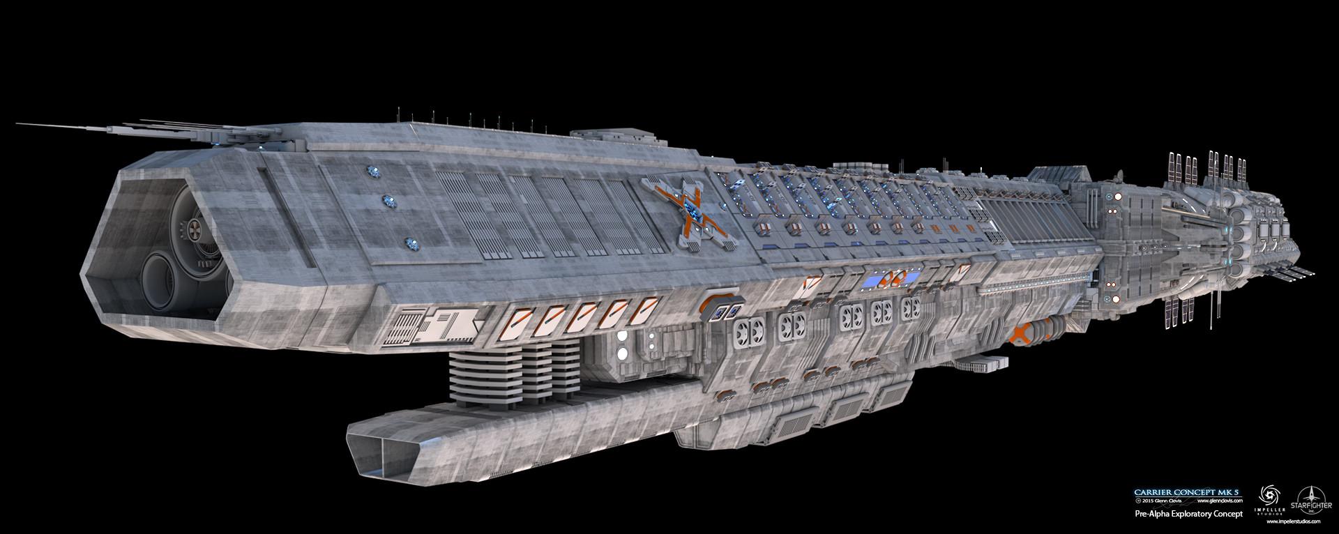 Glenn clovis carrier concept mk5 hdr by glennclovis d8xnpvj