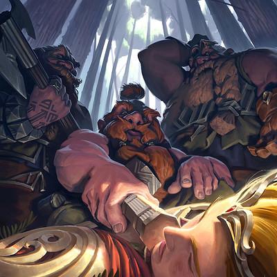 Cesar rosolino dwarves and the lost elf crosolinov2