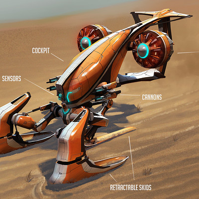 Kelvin liew wasp overpaint orange concept final