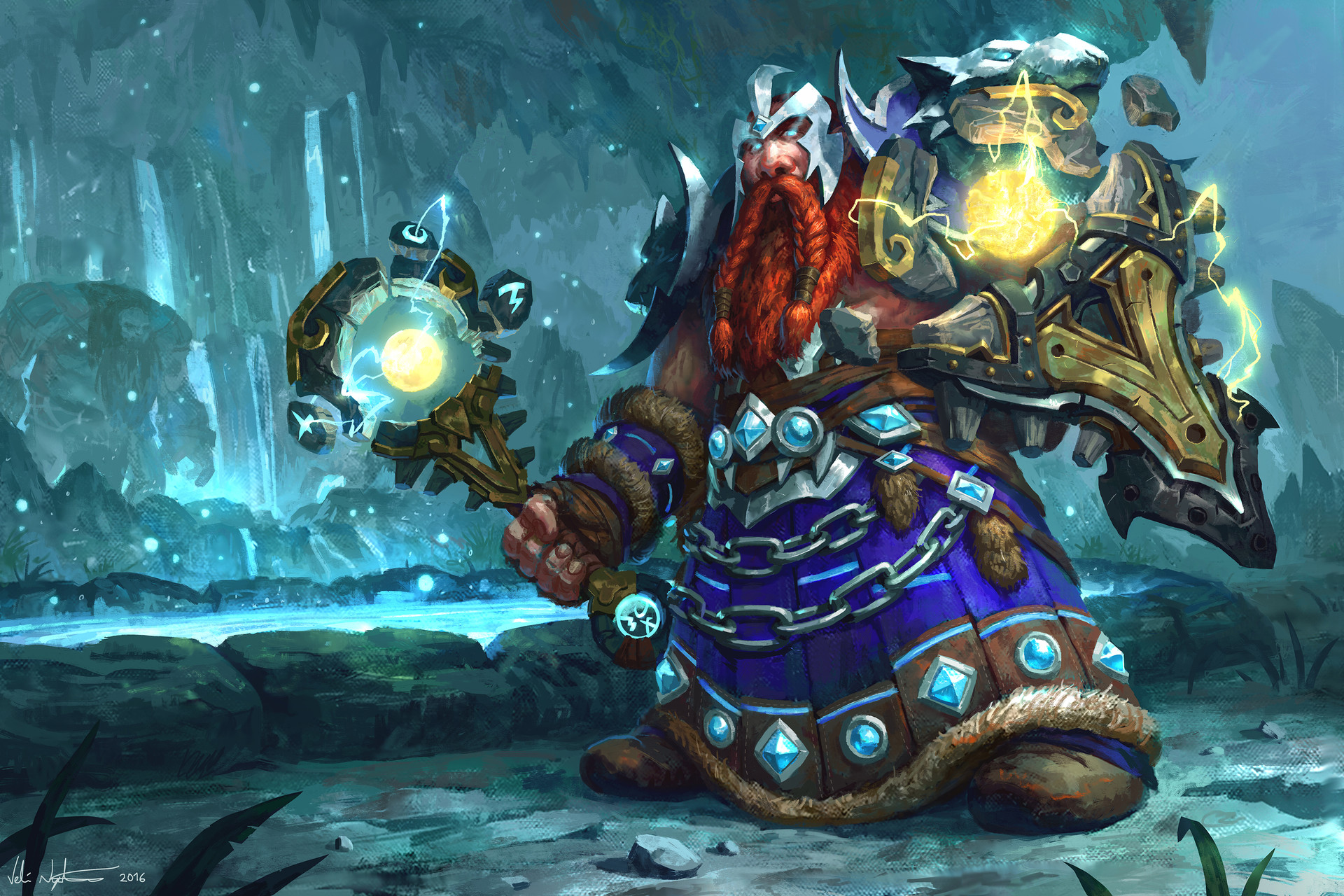Dwarf Shaman - World of Warcraft: Legion