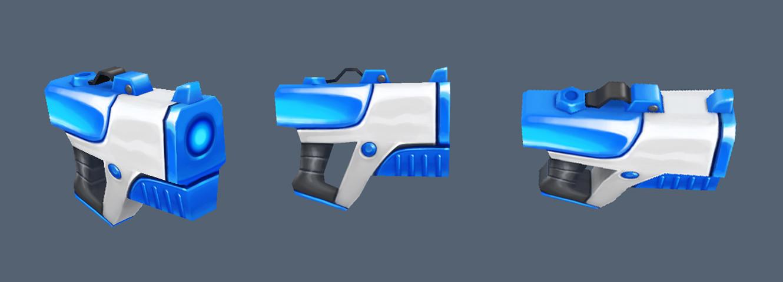 Jose cua texturing test 03 gun