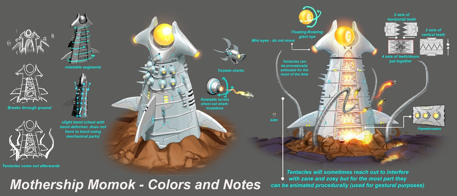 Jose cua mothership momok colors and notes