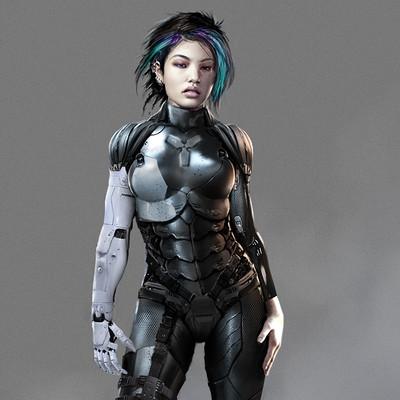 Ian llanas cyberpunkcharacter