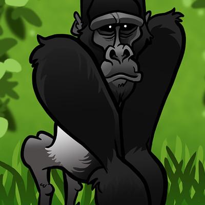 Steve rampton gorilla small