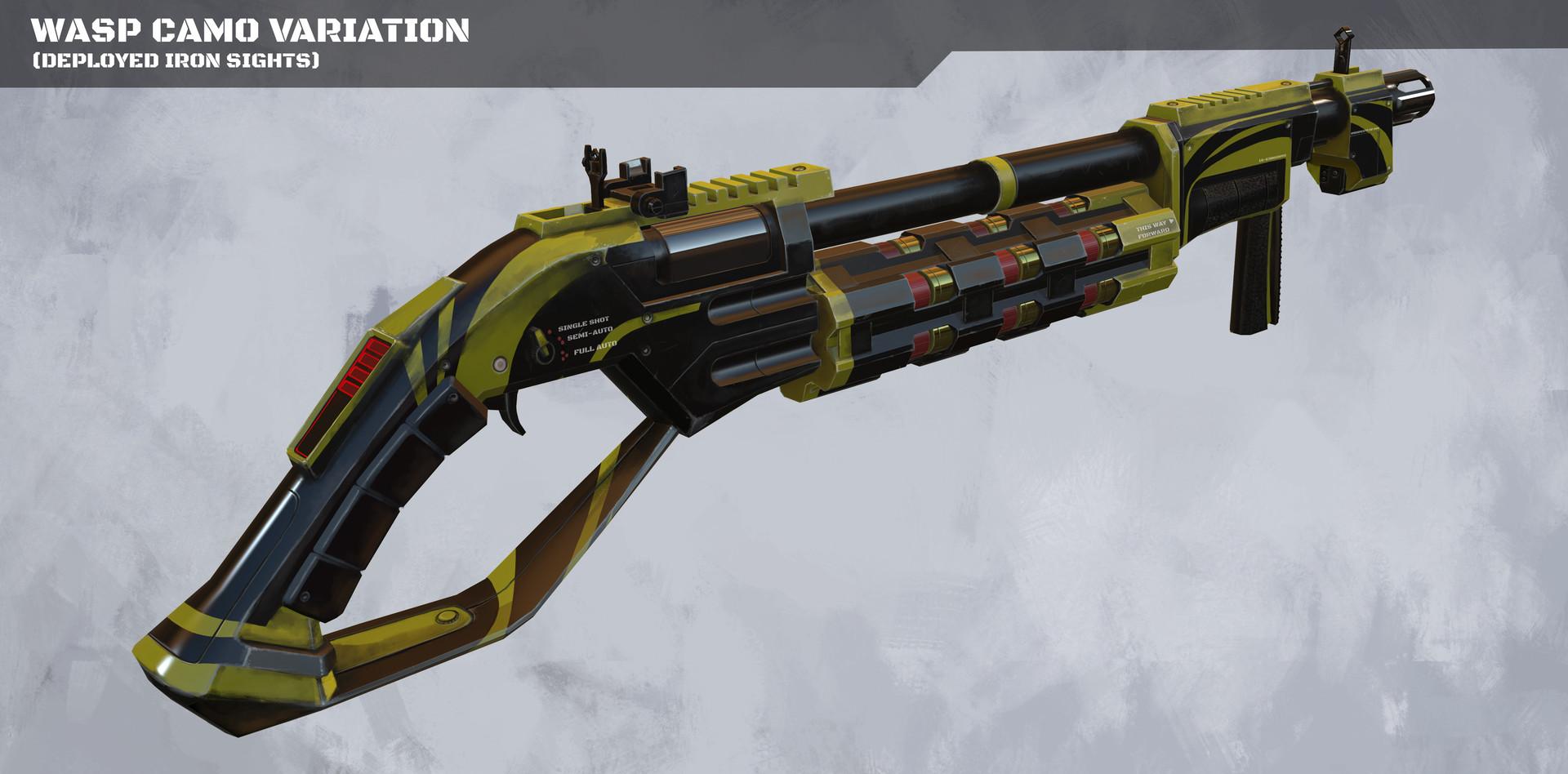 Kelvin liew shotgun wasp camo