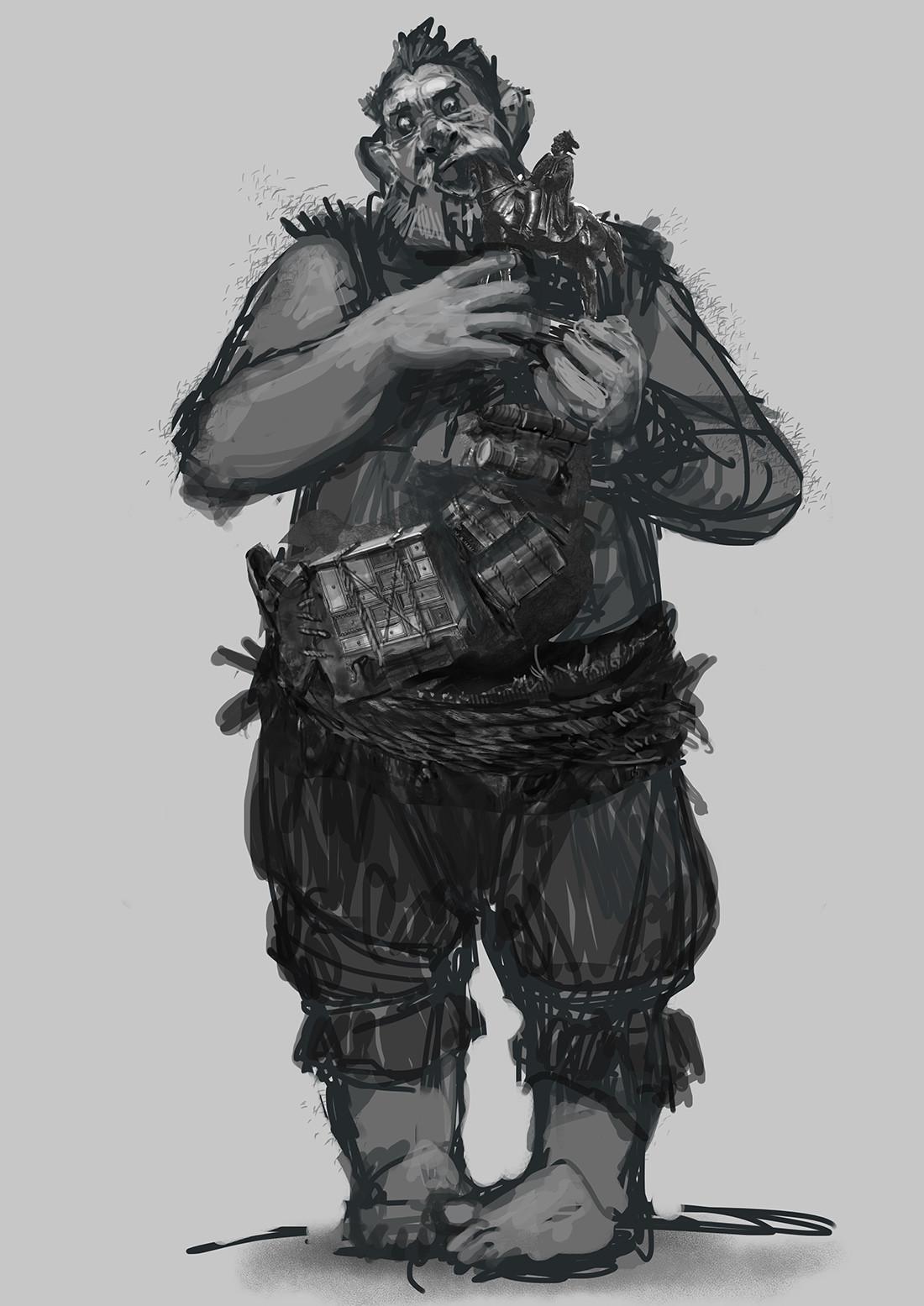 Andrei riabovitchev bfg meatdripper sucking statue v001 002 ar
