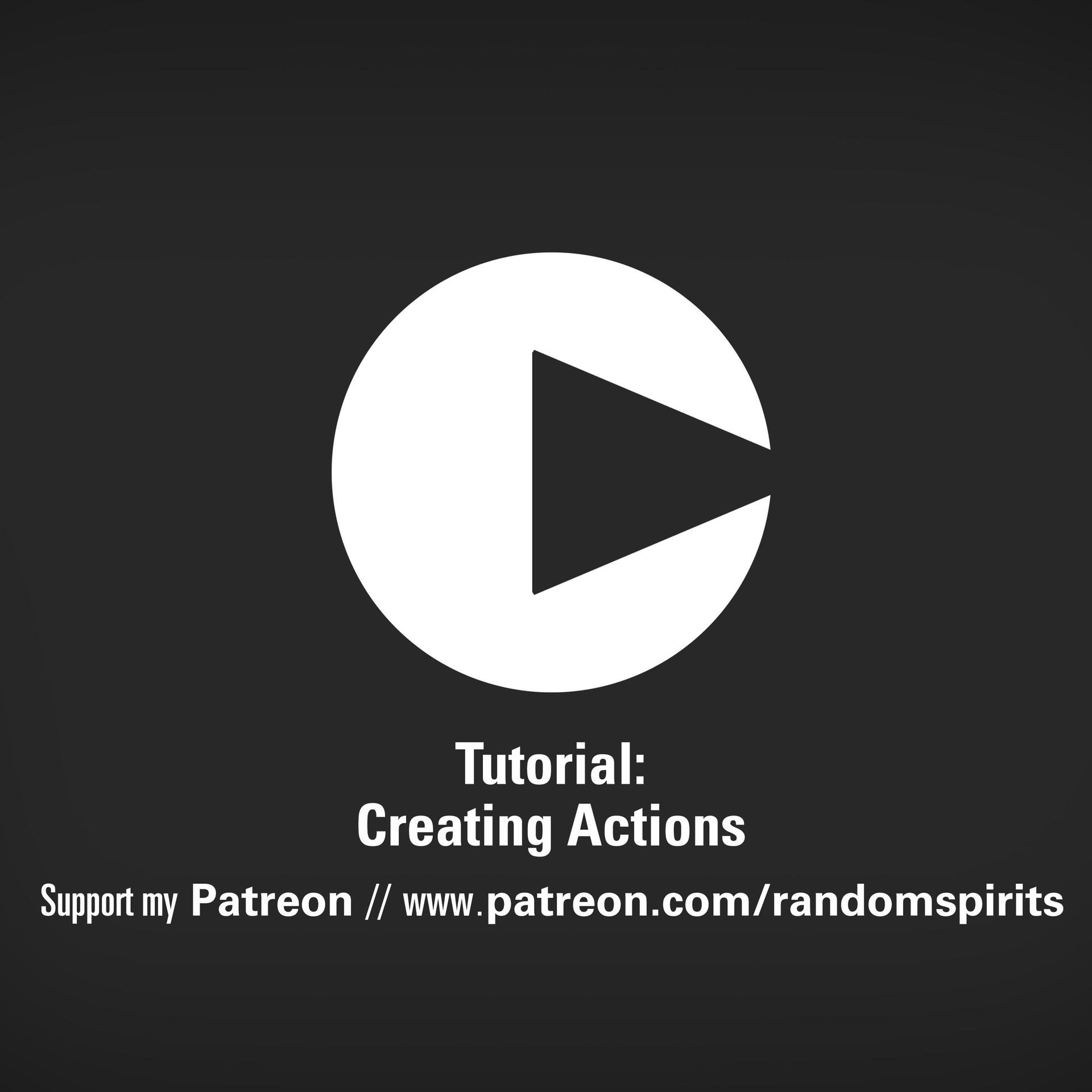 Tim kaminski tutorial actions