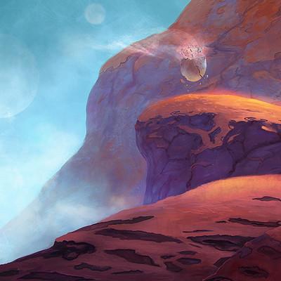 Josh merrick landscape rojo3