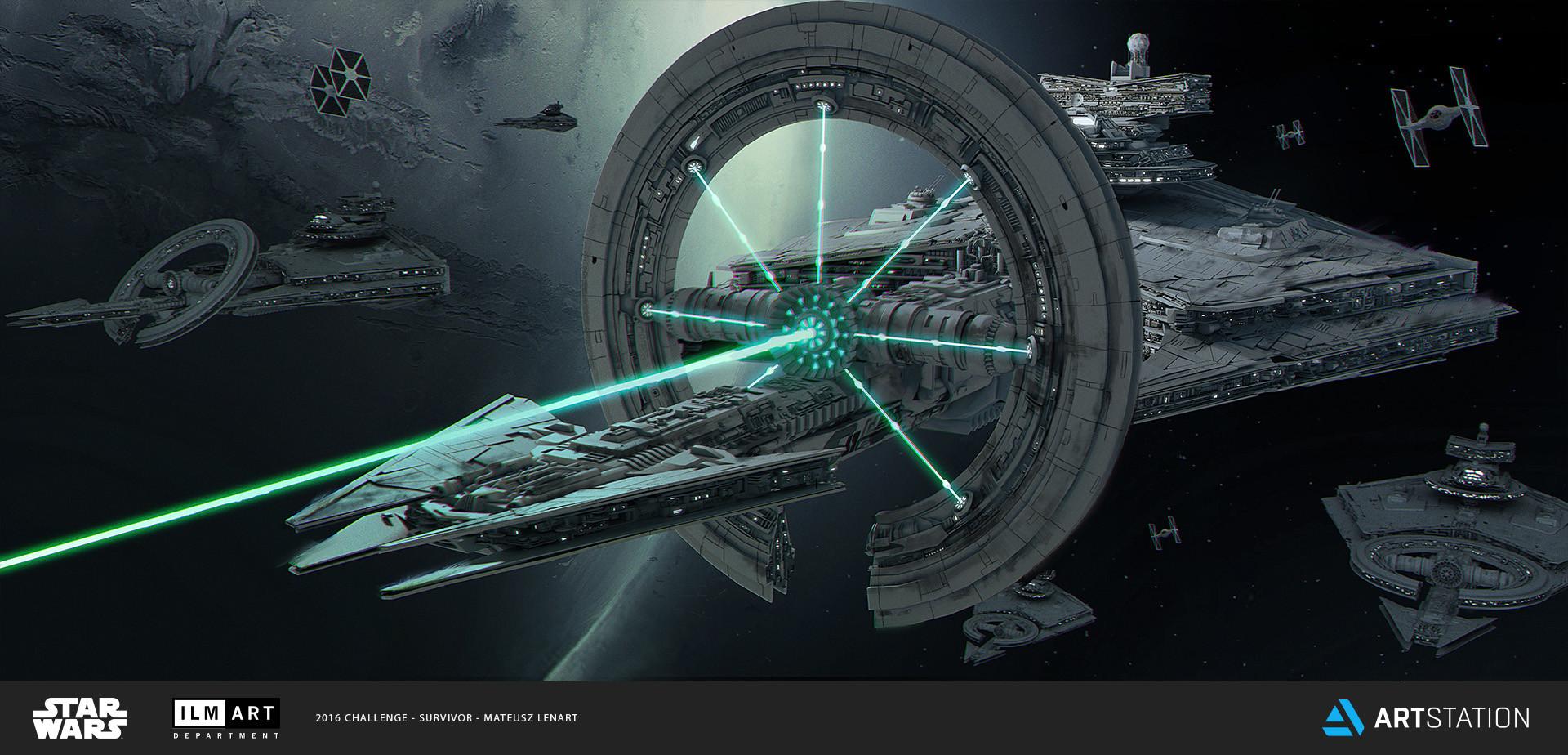 Mateusz lenart new star destroyer mateusz lenart