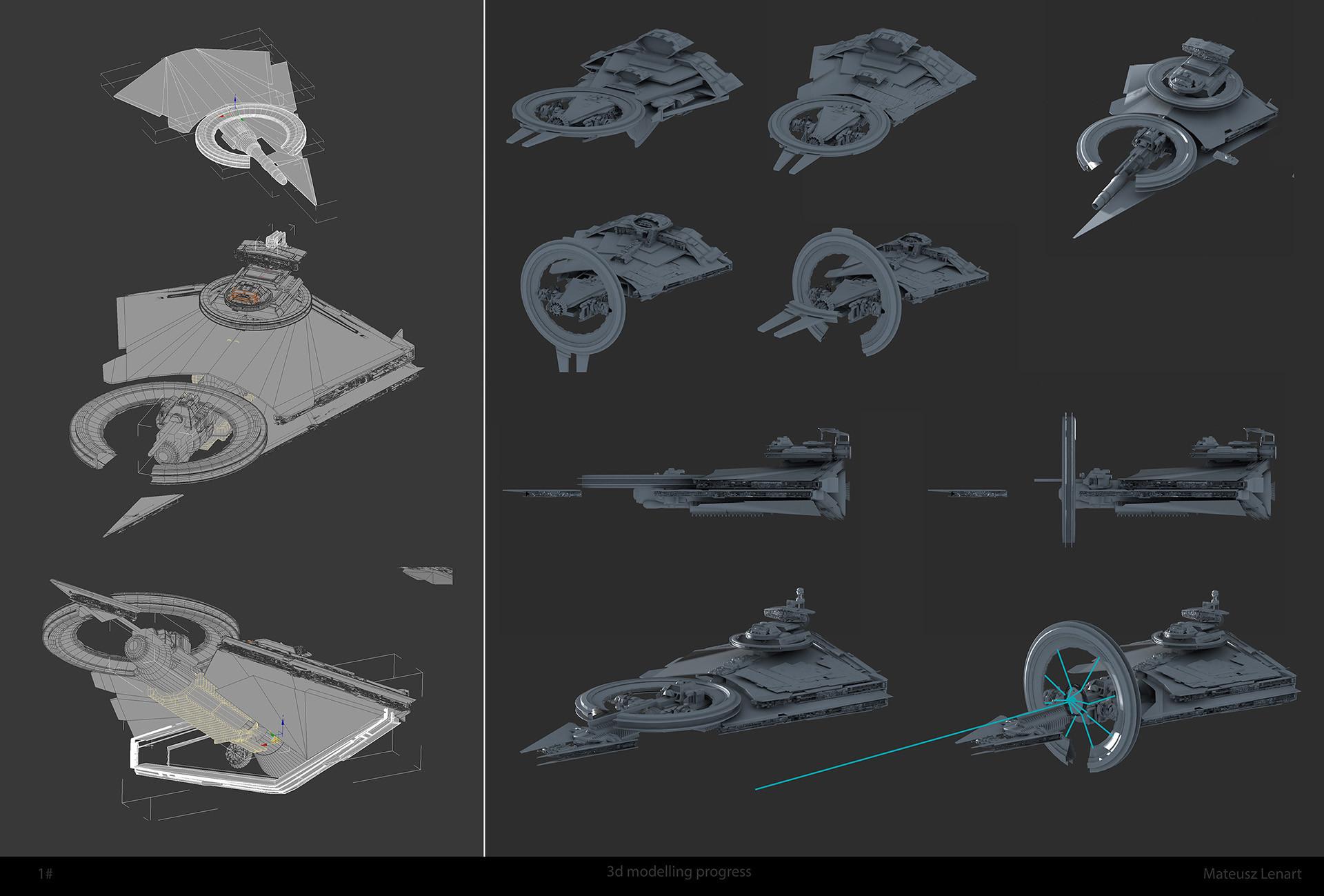 Mateusz lenart star destroyer progres small