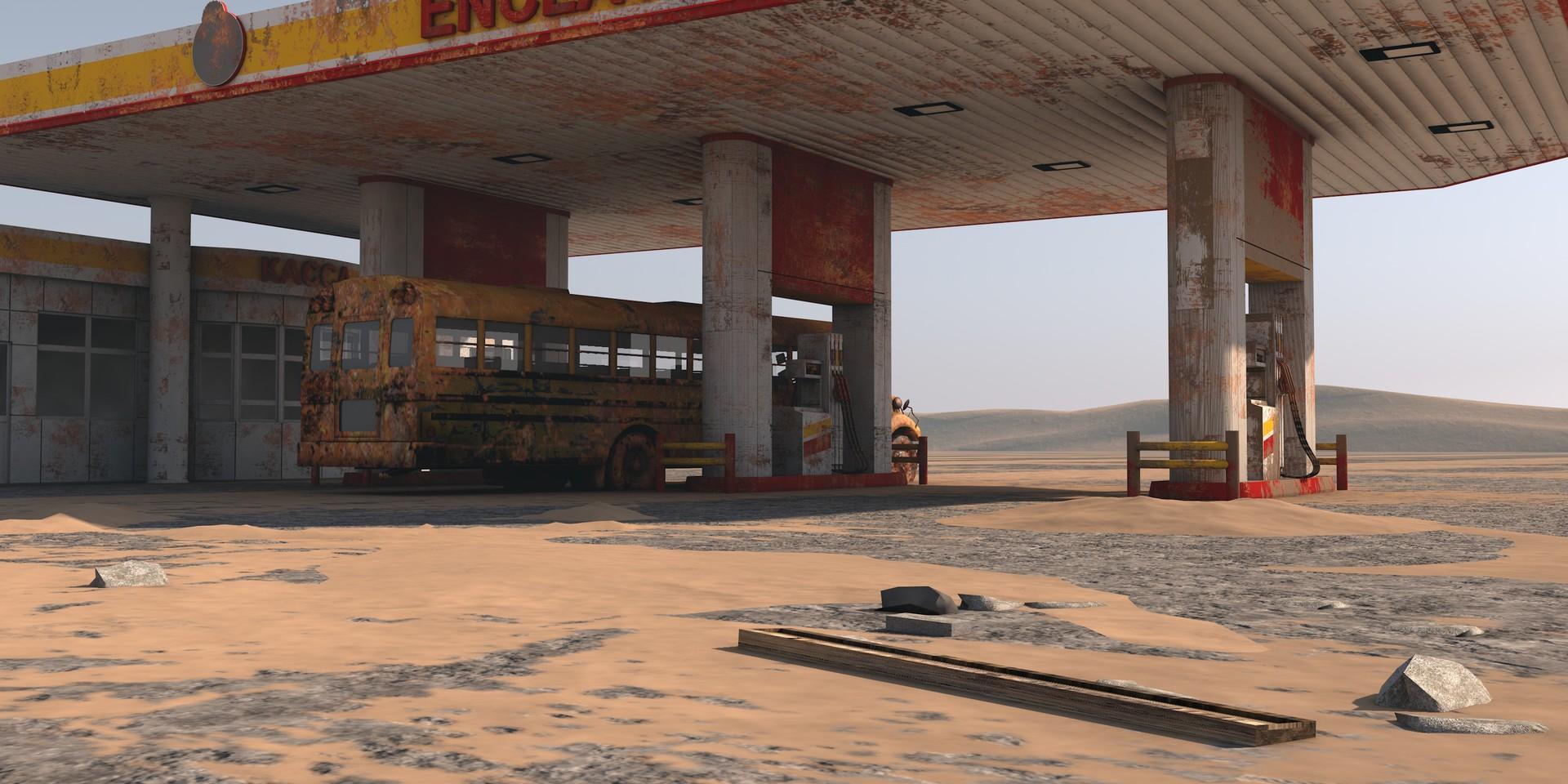 Dimitrije miljus gas station scene2