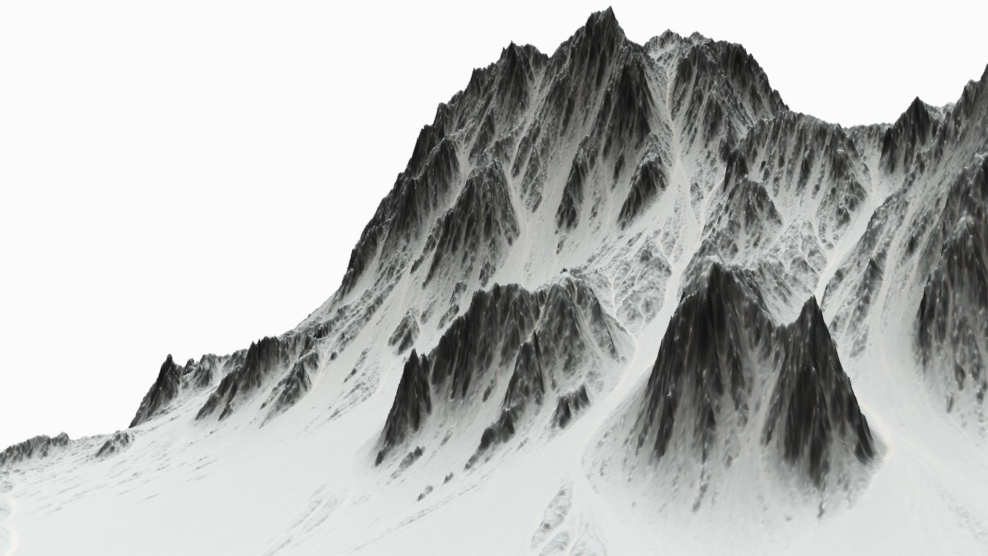 Junliang zhang snow mountain 02