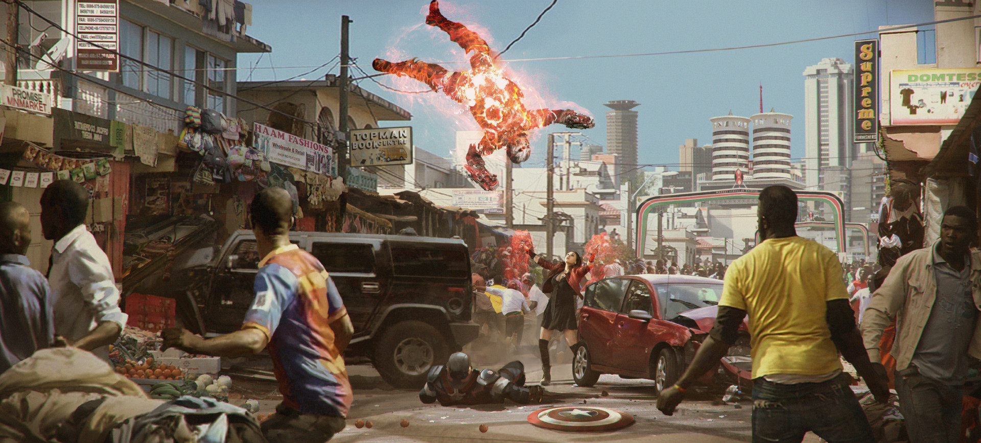 Captain America : Civil War - Nairobi