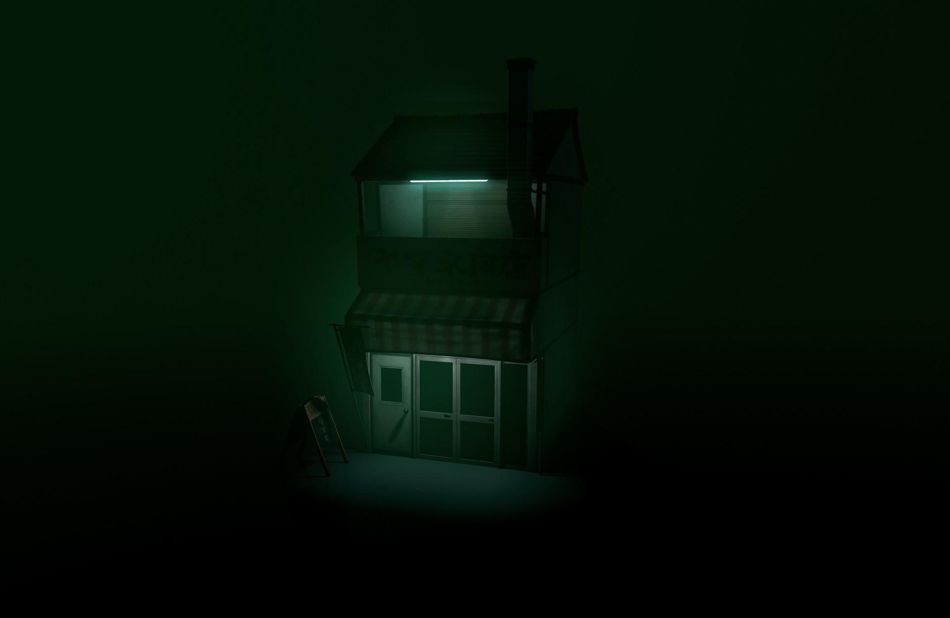 Alex voysey spooky lighting