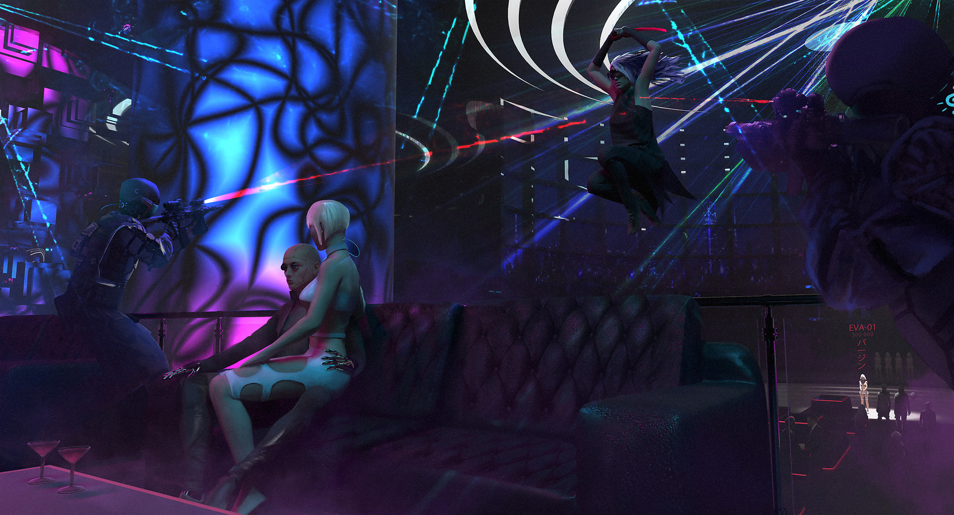 Tomasz smolka conceptdesign cyberpunk club ts final noise 2k