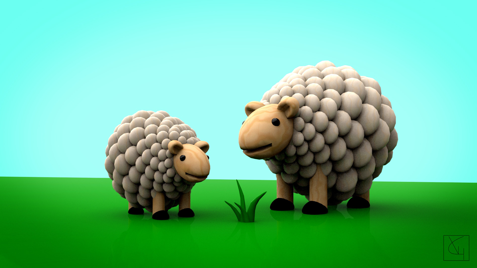 Veronica granadero oveja comp