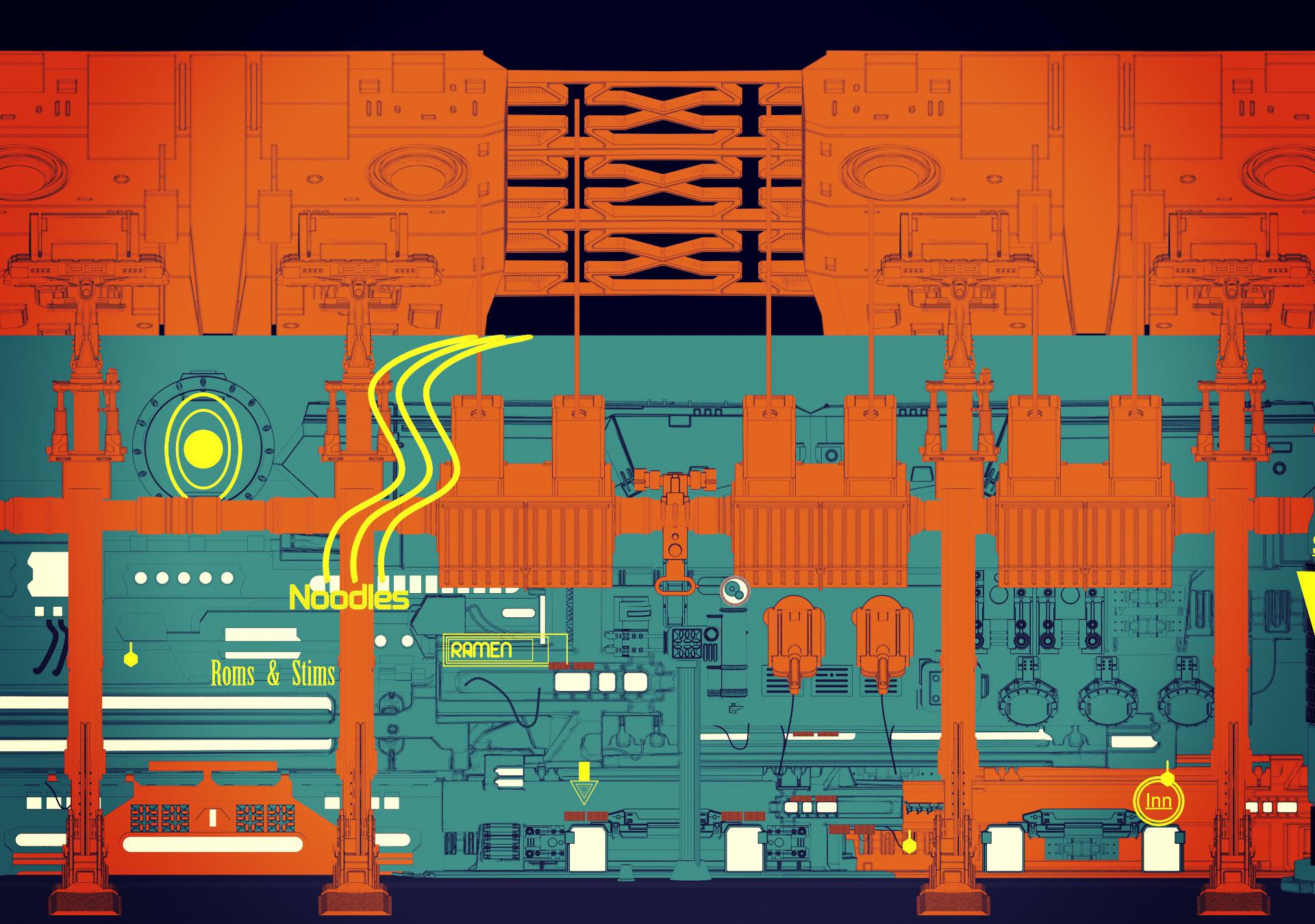 Ben nicholas cyberpunk bar 02