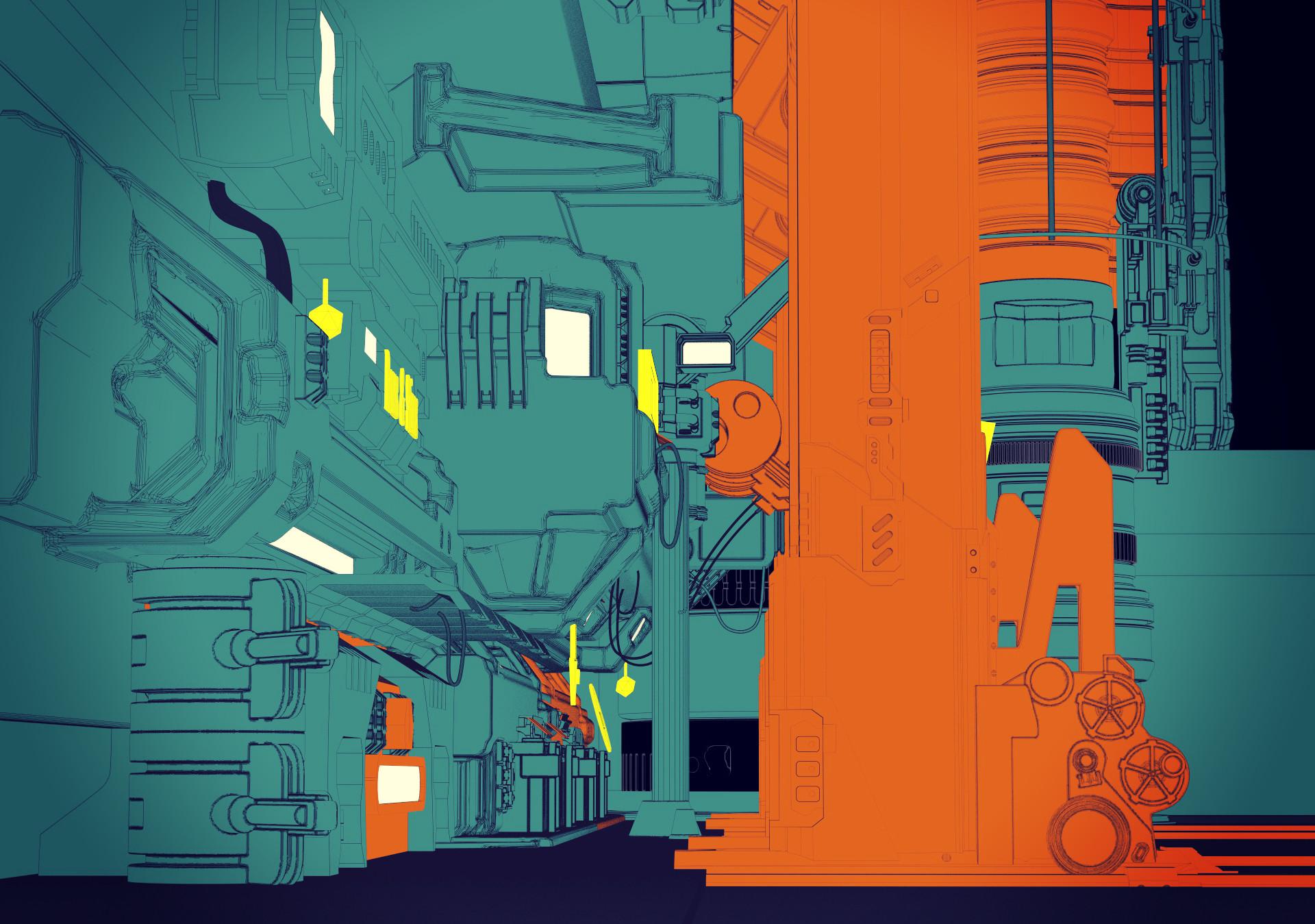 Ben nicholas cyberpunk bar 03