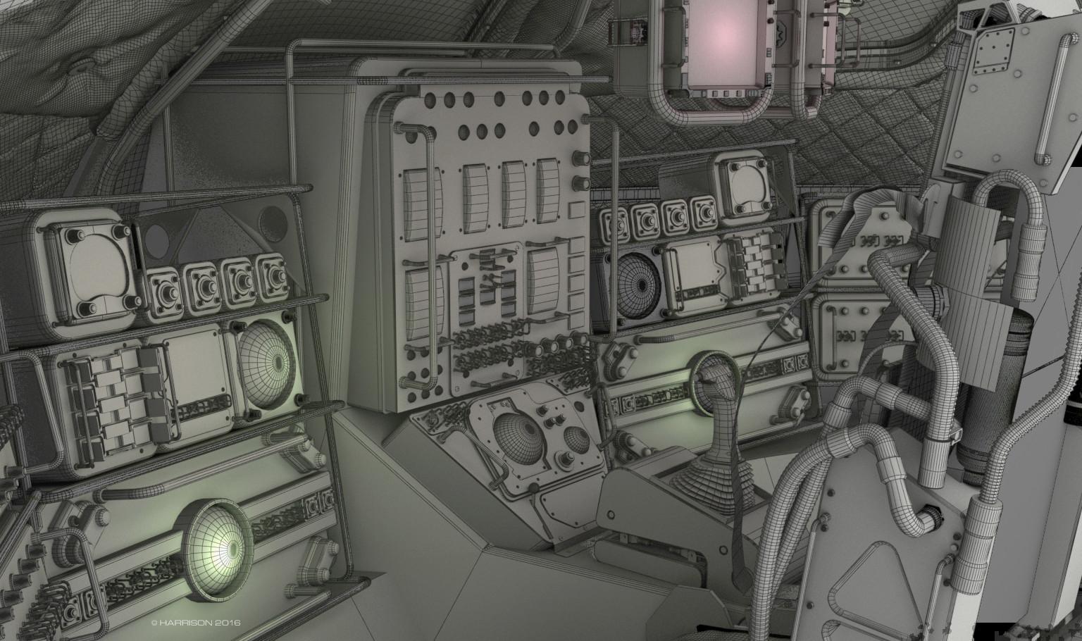 Ben harrison 03 cockpit wire