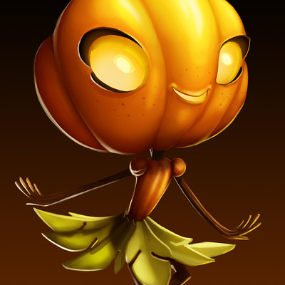 Mikael morin hamelin drawloween 05 pumpkin
