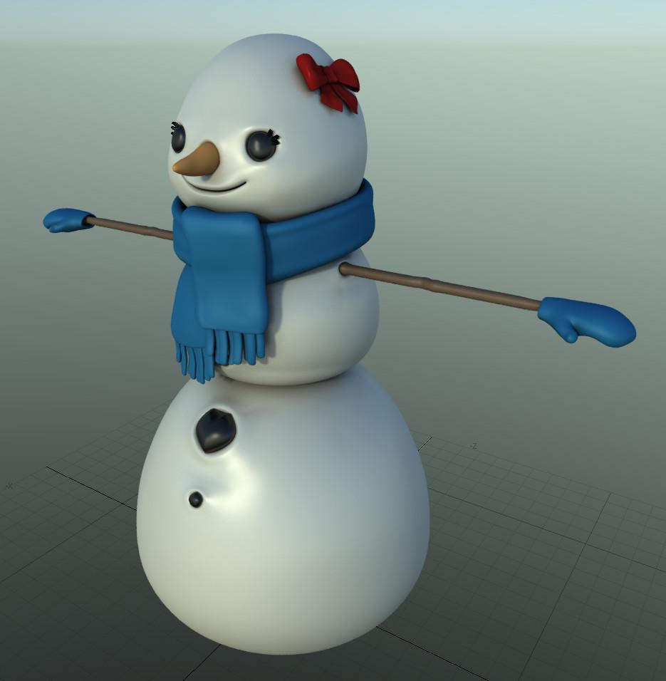 Martin krol snow woman 02