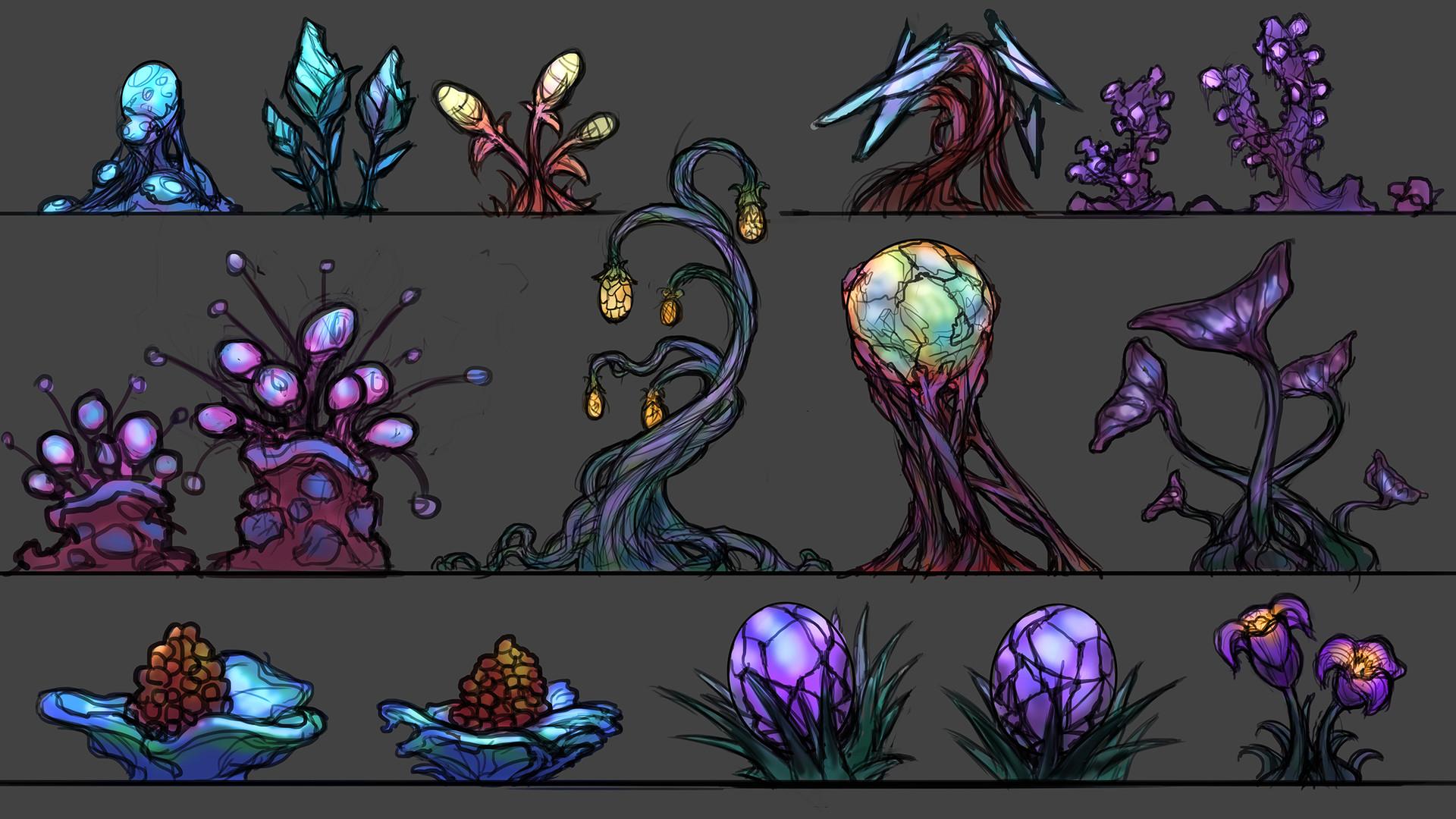 Rob smyth alien plantlife