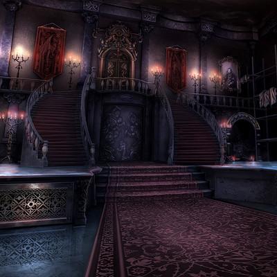 Rob smyth castle entrance hall