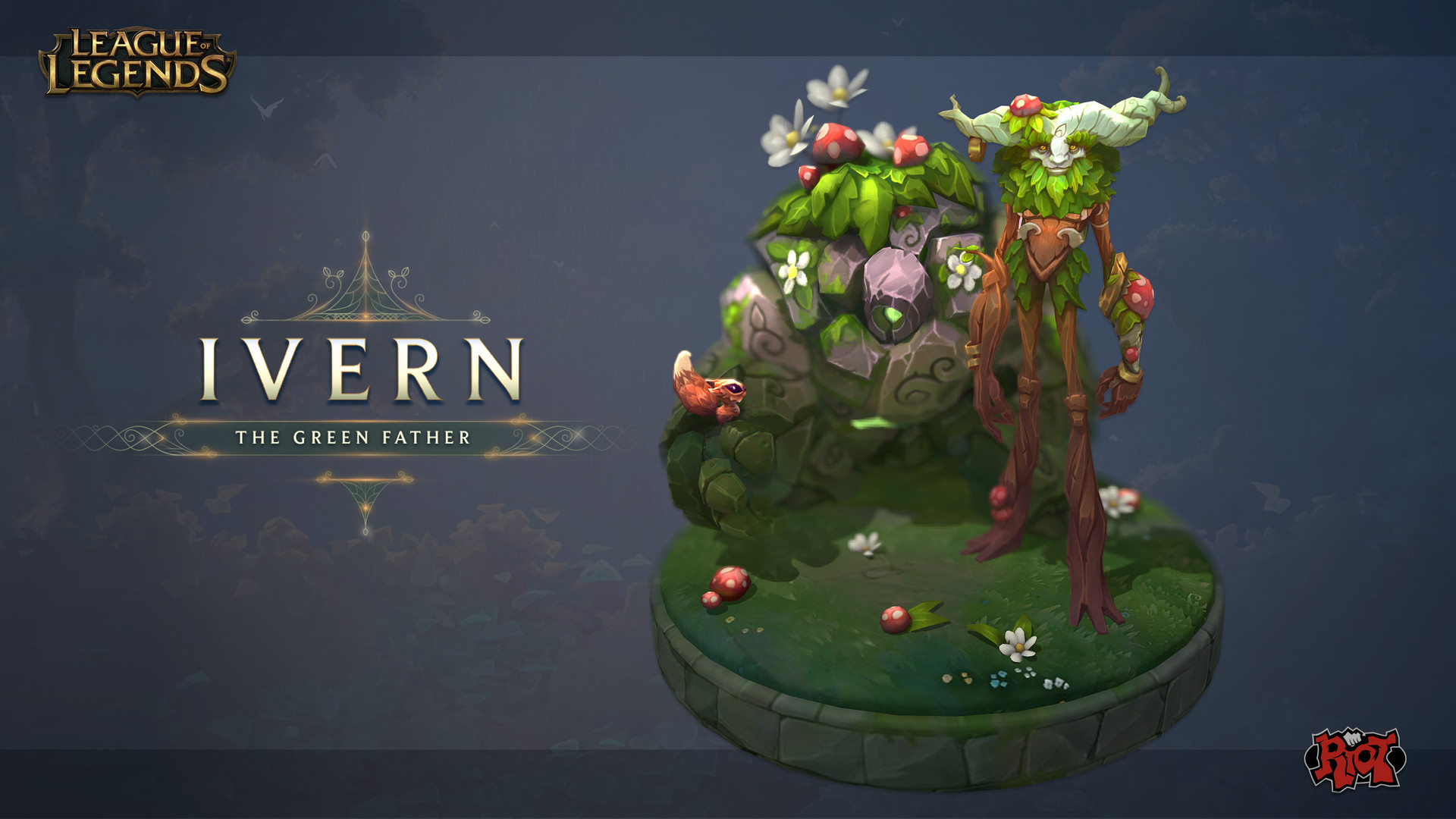 "Ivern ""The Green Father"" - InGame - League of Legends"