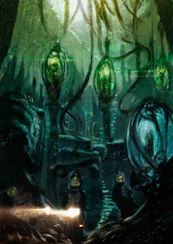Daniele afferni daniele afferni asc daniele afferni artist lovercraft cthulhu conceptart 01