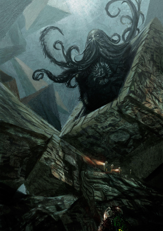 Daniele afferni daniele afferni asc daniele afferni artist lovercraft cthulhu conceptart 02