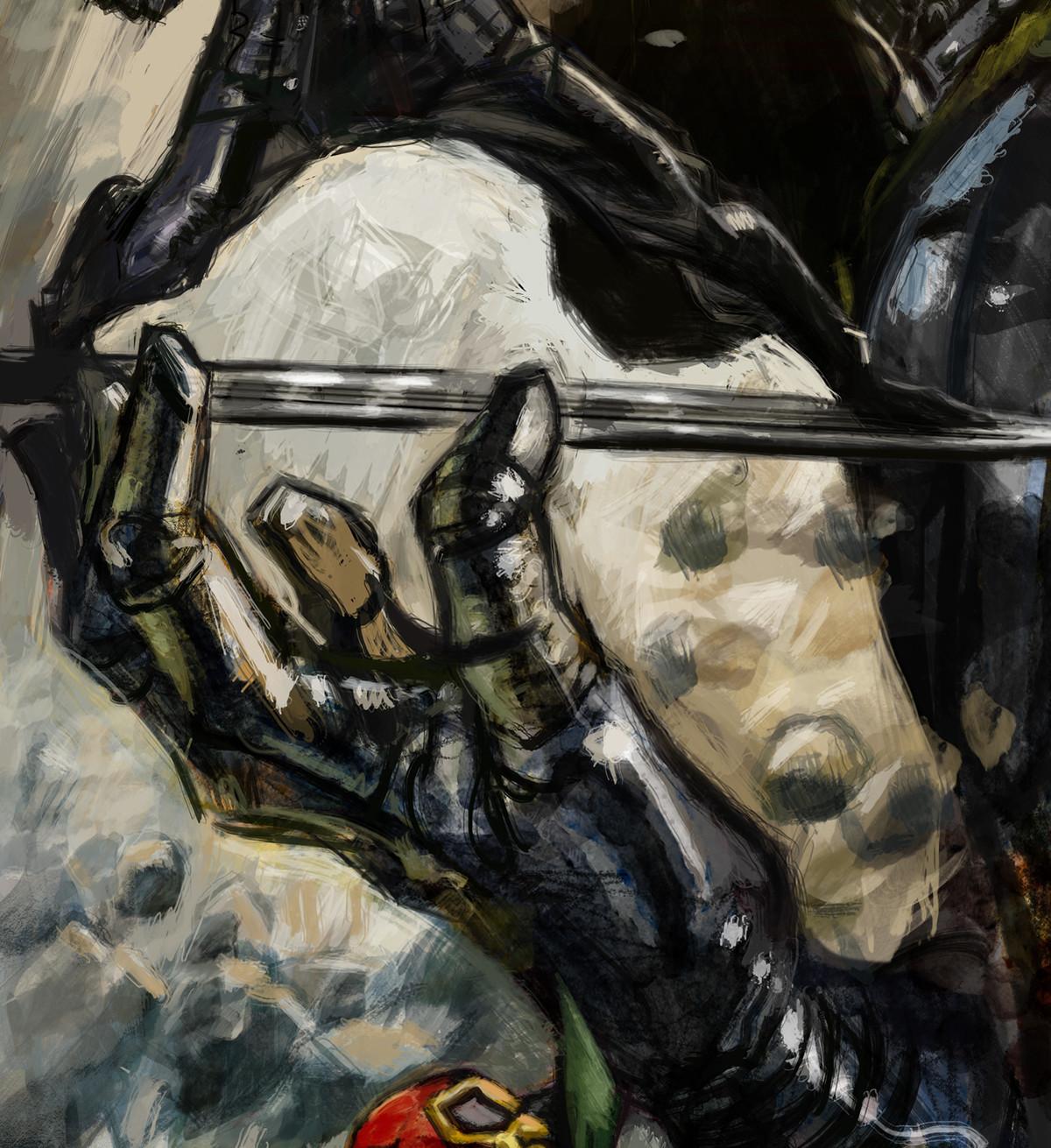 Daniele afferni daniele afferni artist commission armageddon close2