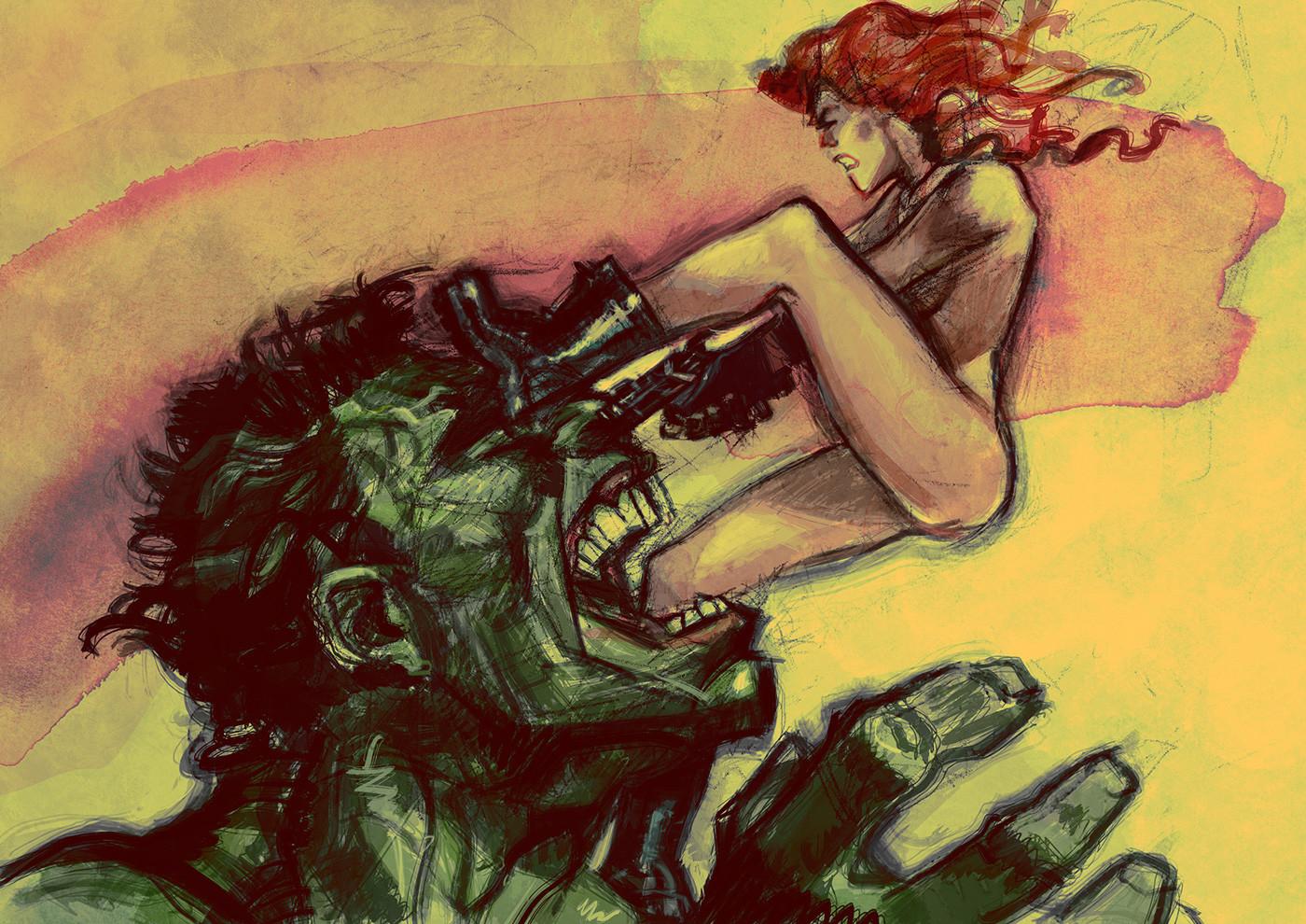 Daniele afferni fighting lovers by daniele afferni artist b