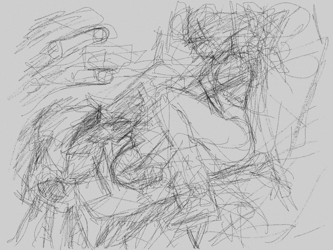 Daniele afferni fighting lovers by daniele afferni artist pencil