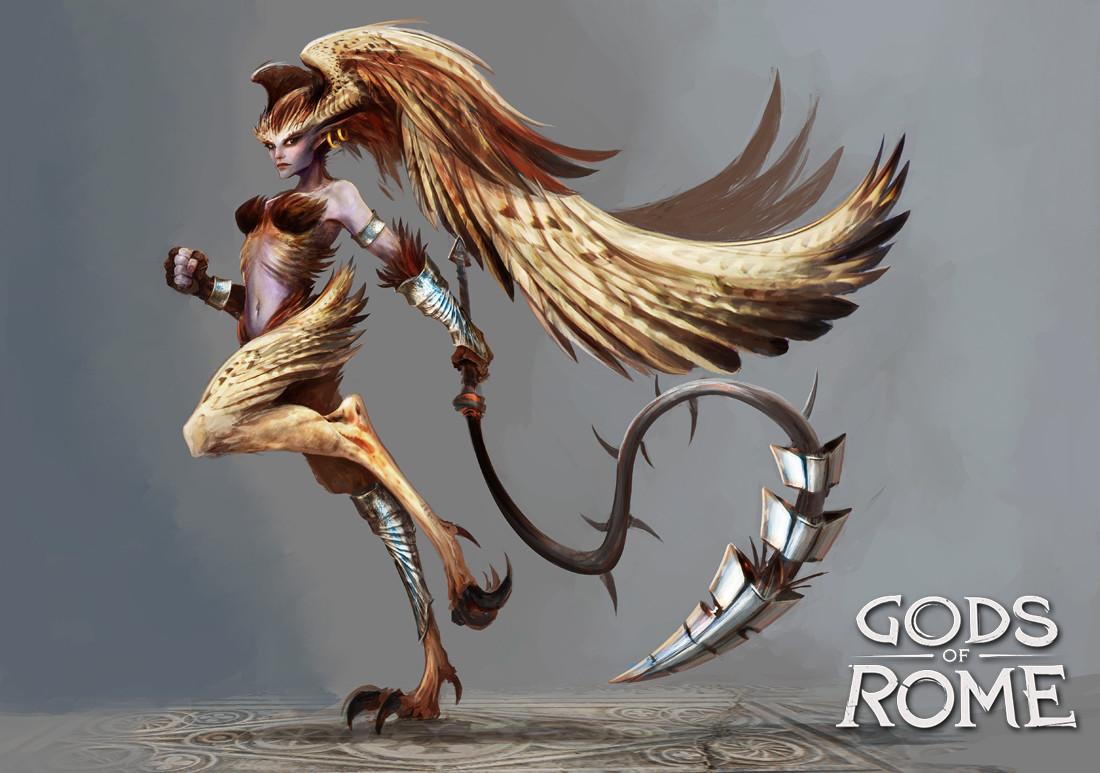 Alexandre chaudret gor character harpy04