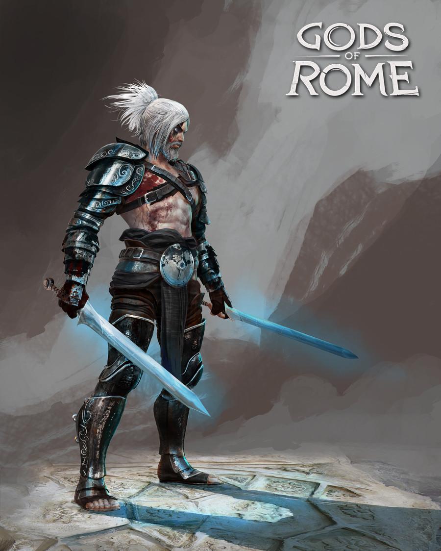 Alexandre chaudret gor character dark prometheus 01
