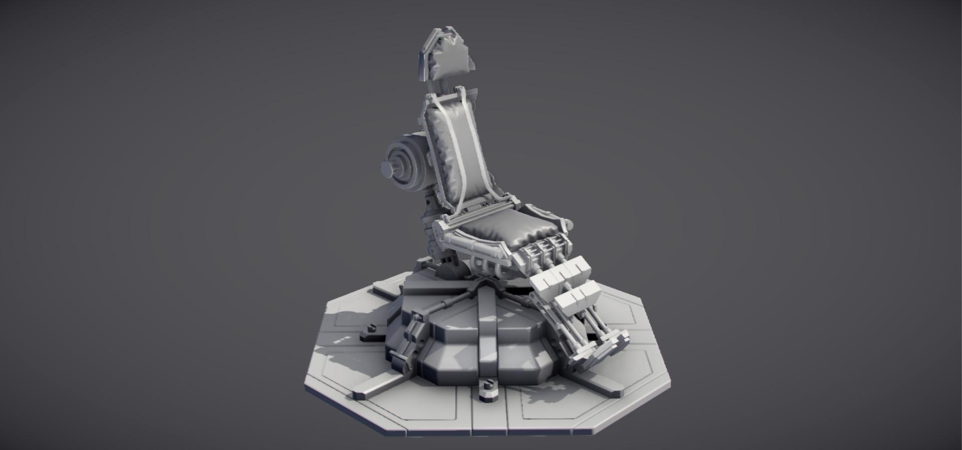 Starship Bridge Chair