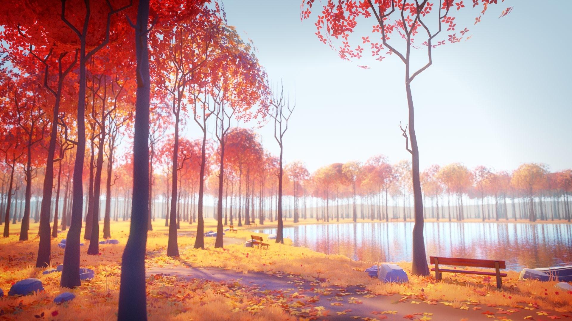 Milan vasek autumn lake sunny final