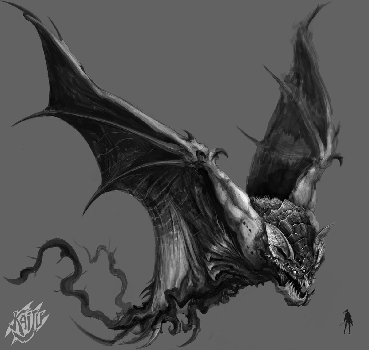 Alexandre chaudret kaijus creature predator11