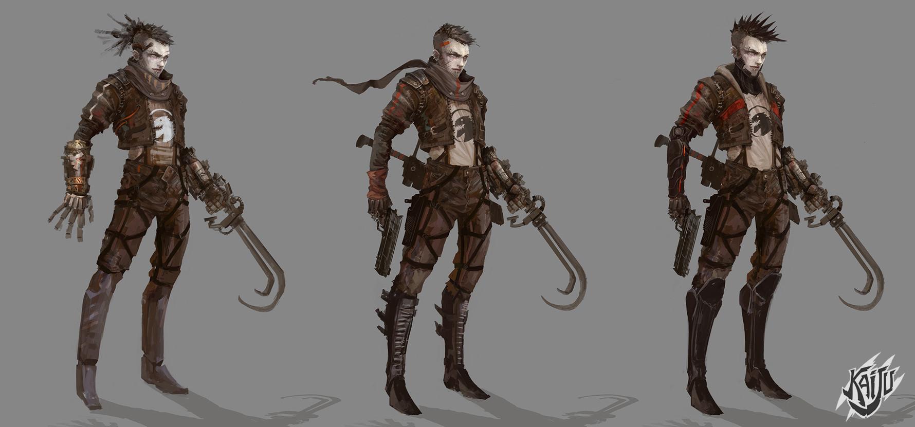 Alexandre chaudret kaijus character hero02 viewer