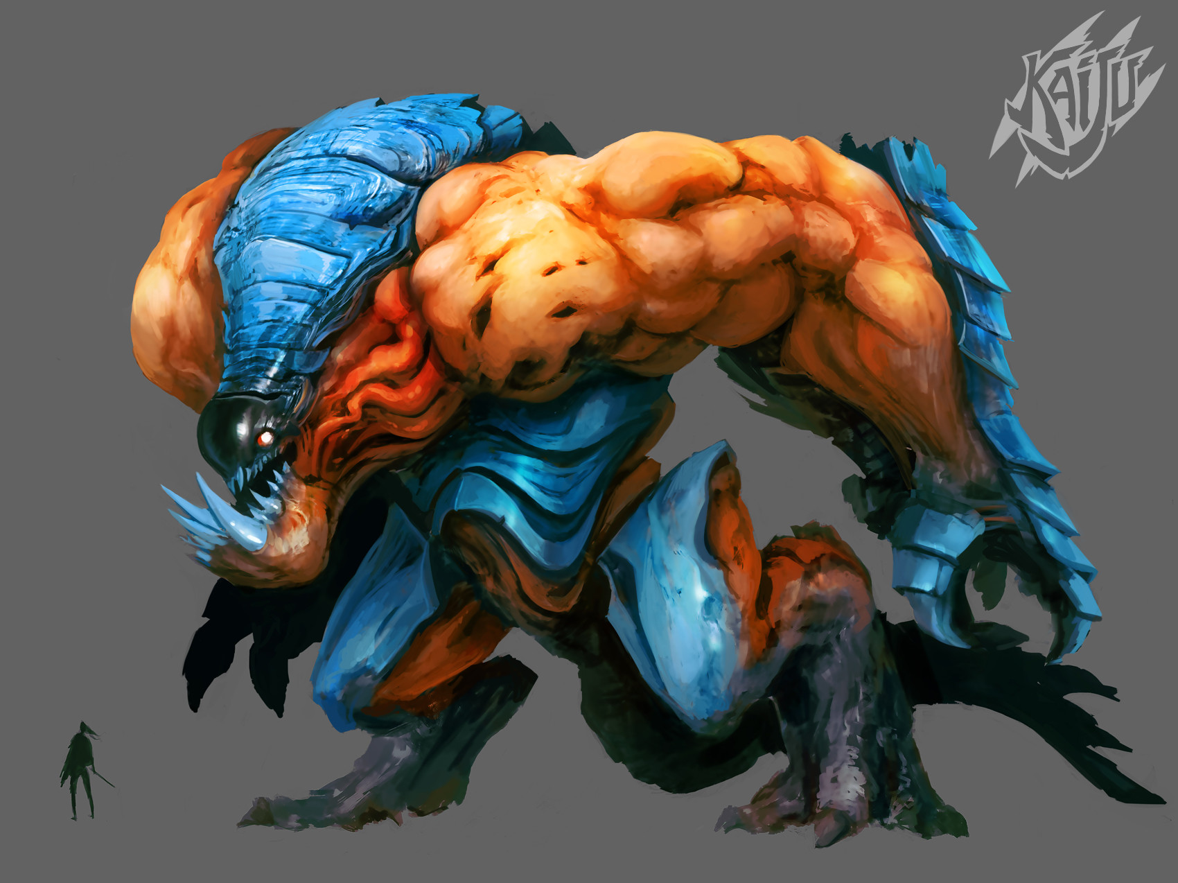 Alexandre chaudret kaijus creature predator06b