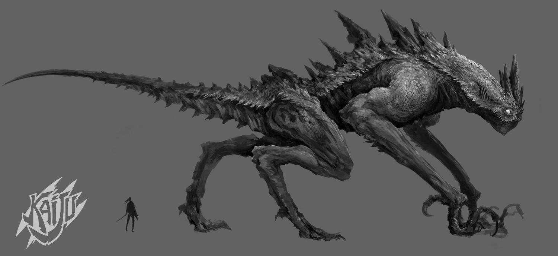Alexandre chaudret kaijus creature predator01
