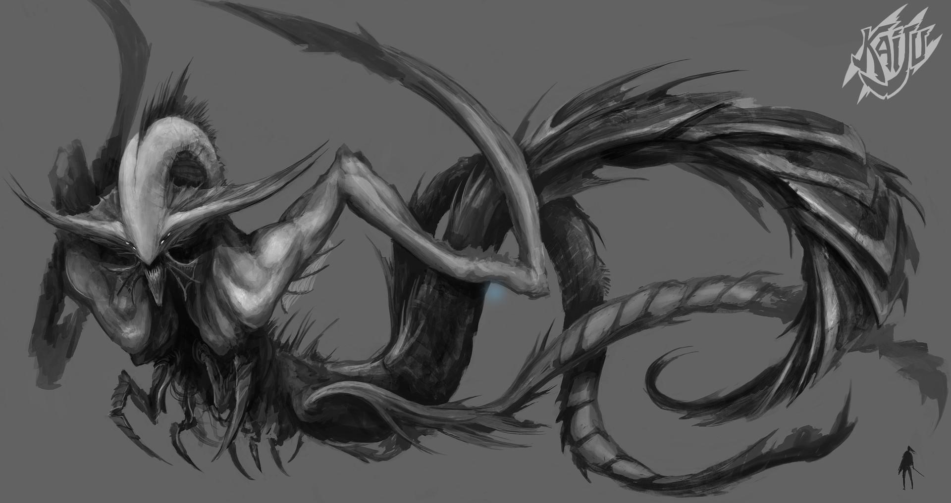 Alexandre chaudret kaijus creature predator09