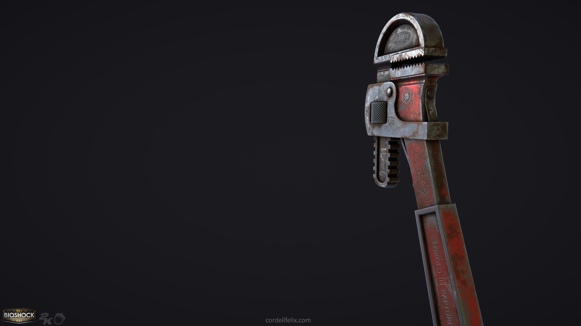 Cordell felix cordellfelix bioshock wrench 02