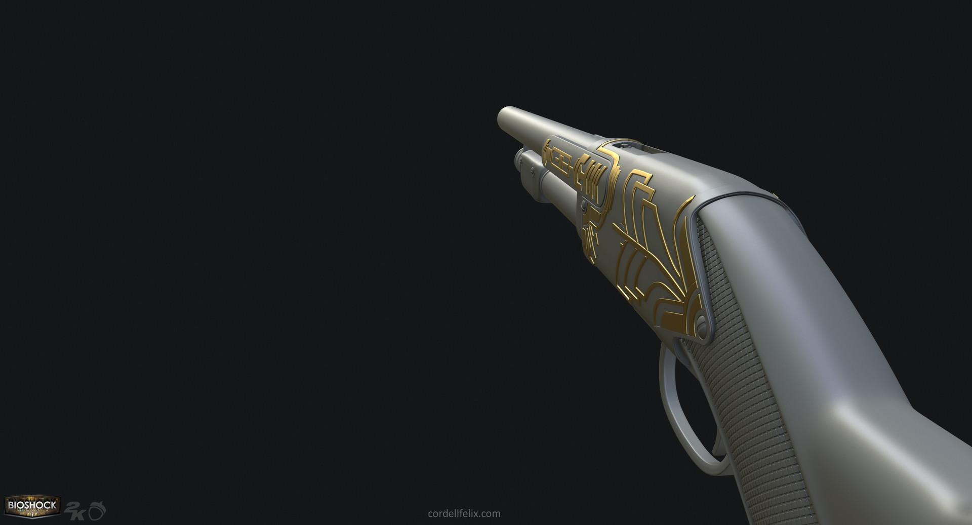 Cordell felix cordellfelix bioshock shotgun hp 02