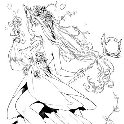 Amanda schank garden witch
