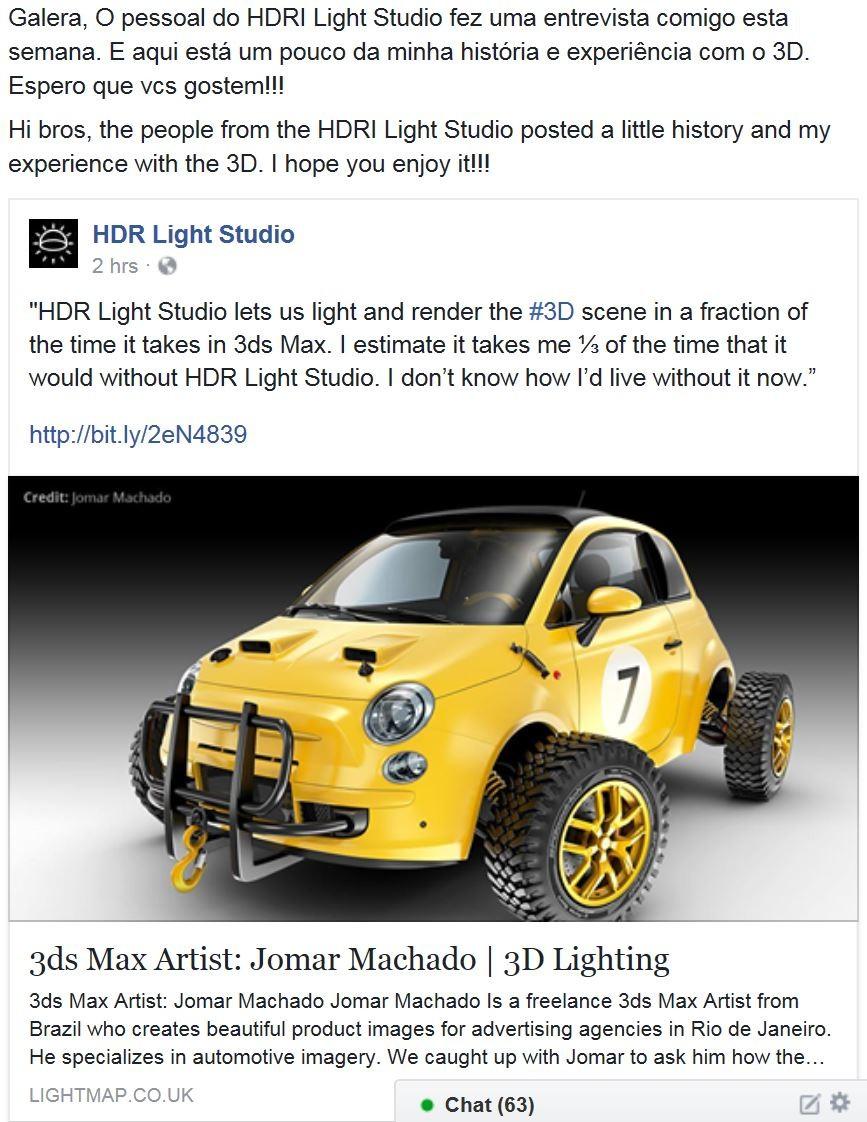Jomar machado hdr light studio