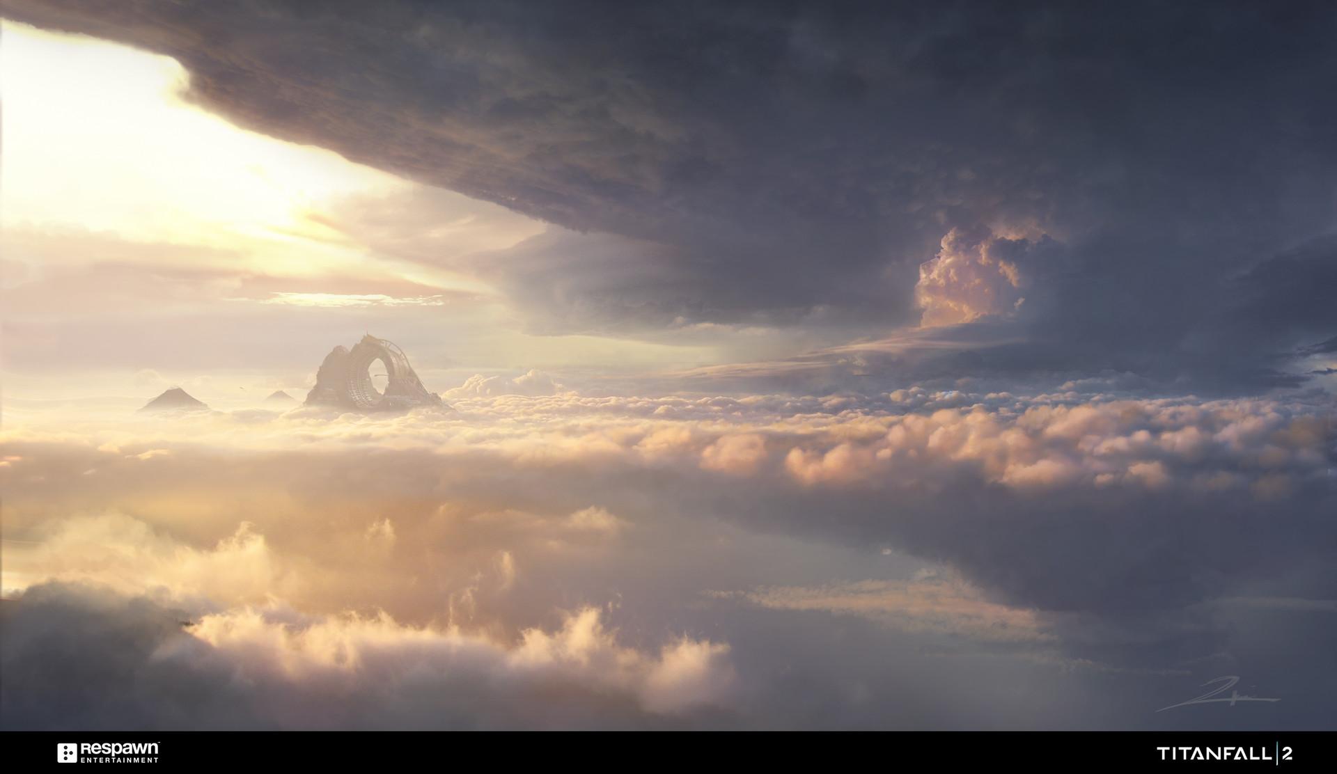 Tu bui wild drop abover clouds