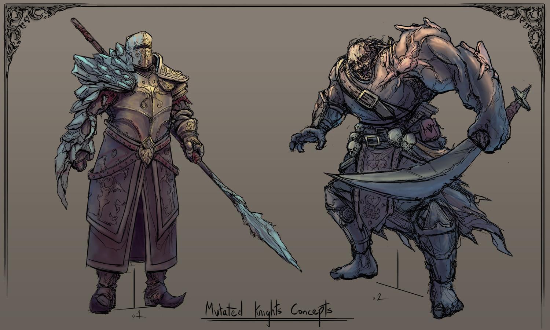 Rob smyth zombie knights