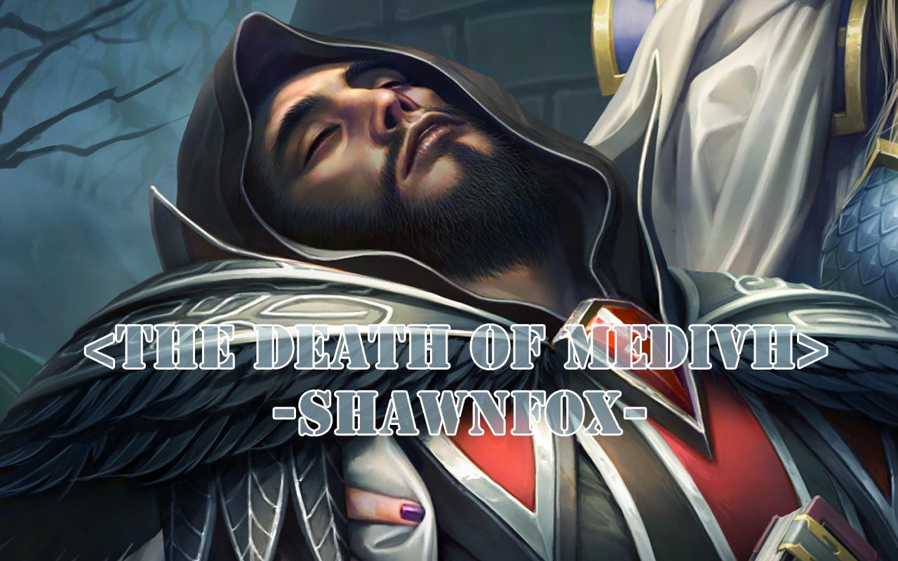 Shawn fox the death of medivh 01