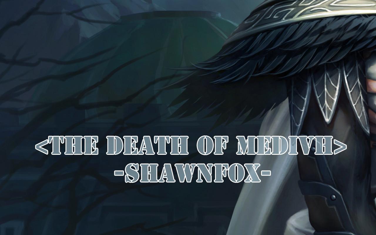 Shawn fox the death of medivh 06
